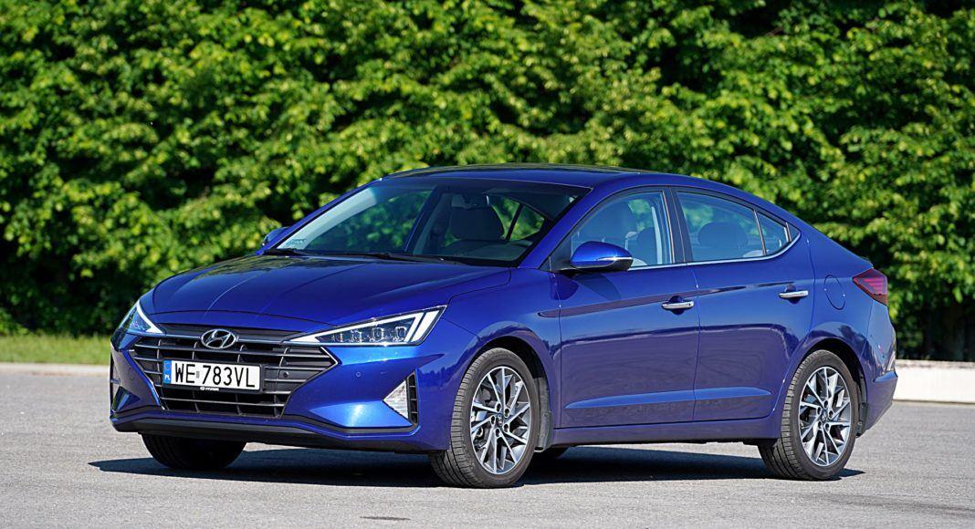 Hyundai Elantra – przód