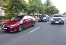 HYUNDAI Elantra - RENAULT Megane GrandCoupe - TOYOTA Corolla Sedan