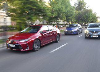 Hyundai Elantra, Renault Megane, Toyota Corolla – silnik wolnossący, turbo i hybryda – PORÓWNANIE