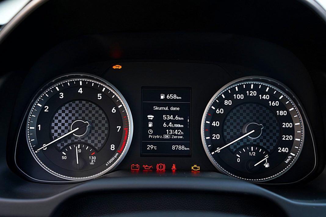 Hyundai Elantra – wskaźniki