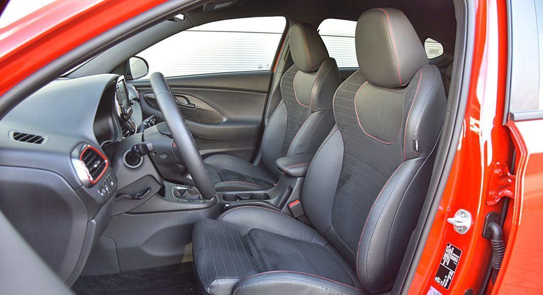 Hyundai i30 N Fastback – fotele