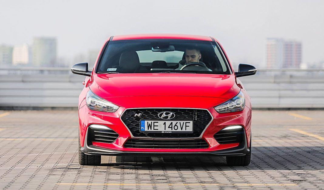 Hyundai i30 N Fastback – przód