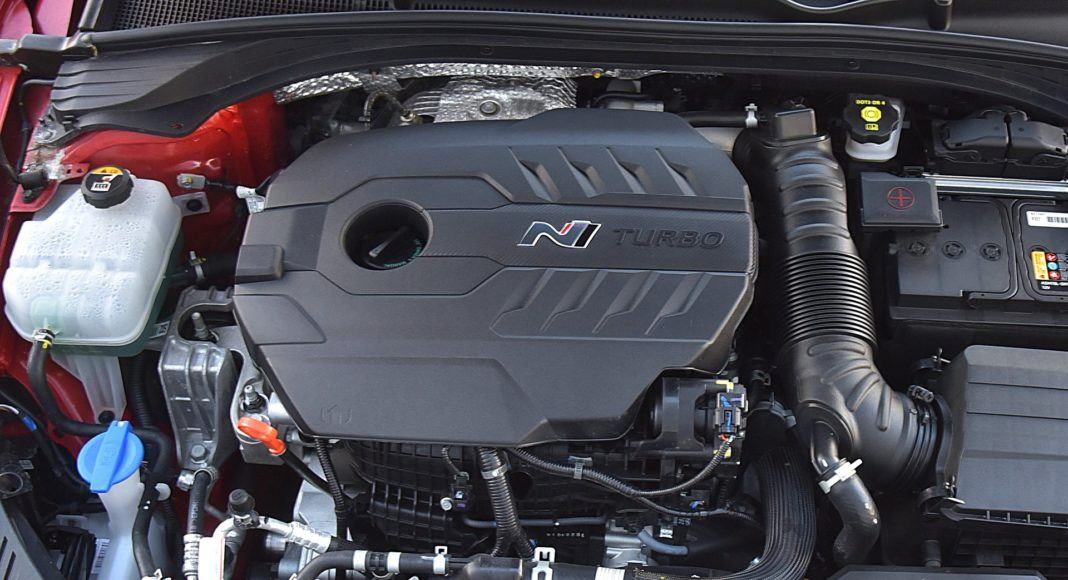 HYUNDAI i30 III Fastback N Perfomance silnik