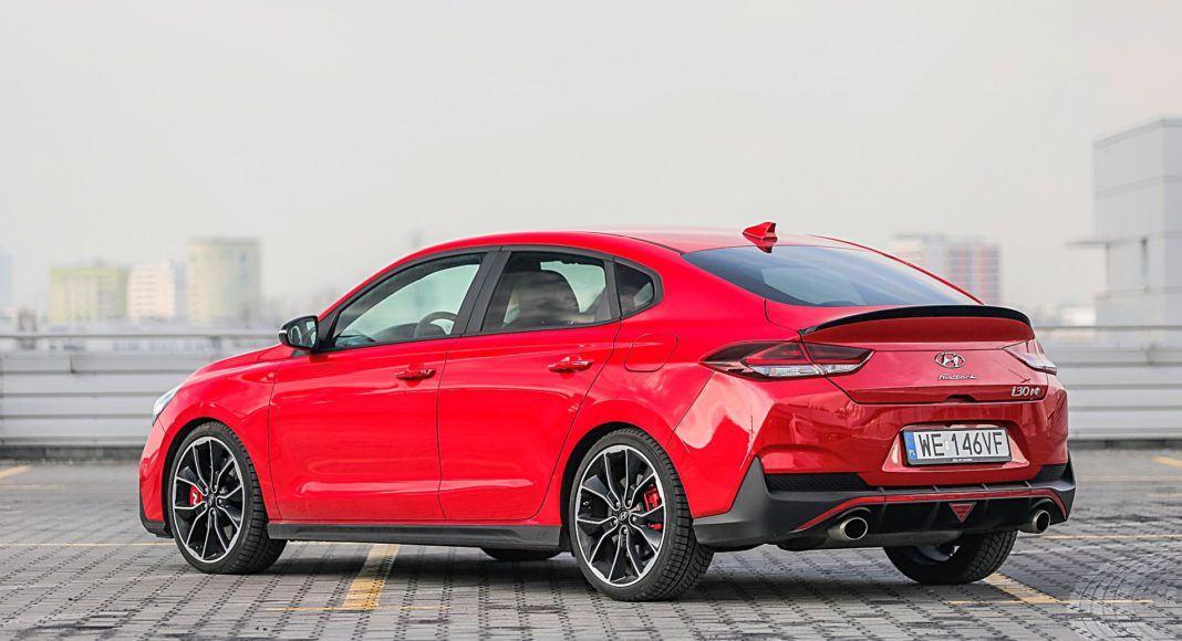 Hyundai i30 N Fastback – tył