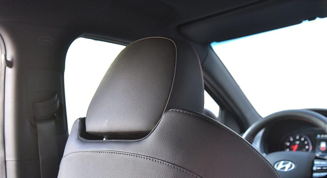 Hyundai i30 N Fastback – zagłówki