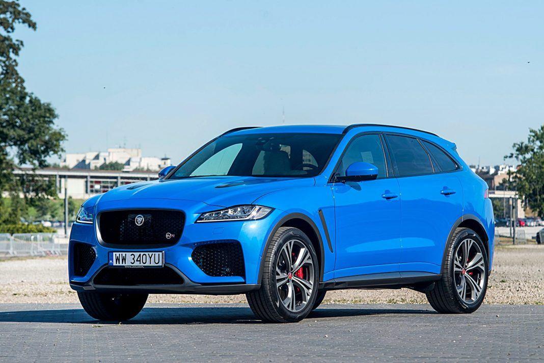Jaguar F-Pace SVR – przód