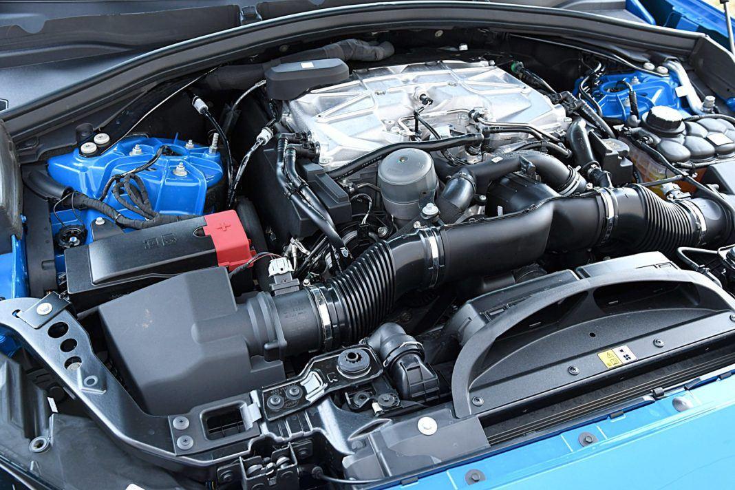 Jaguar F-Pace SVR – silnik