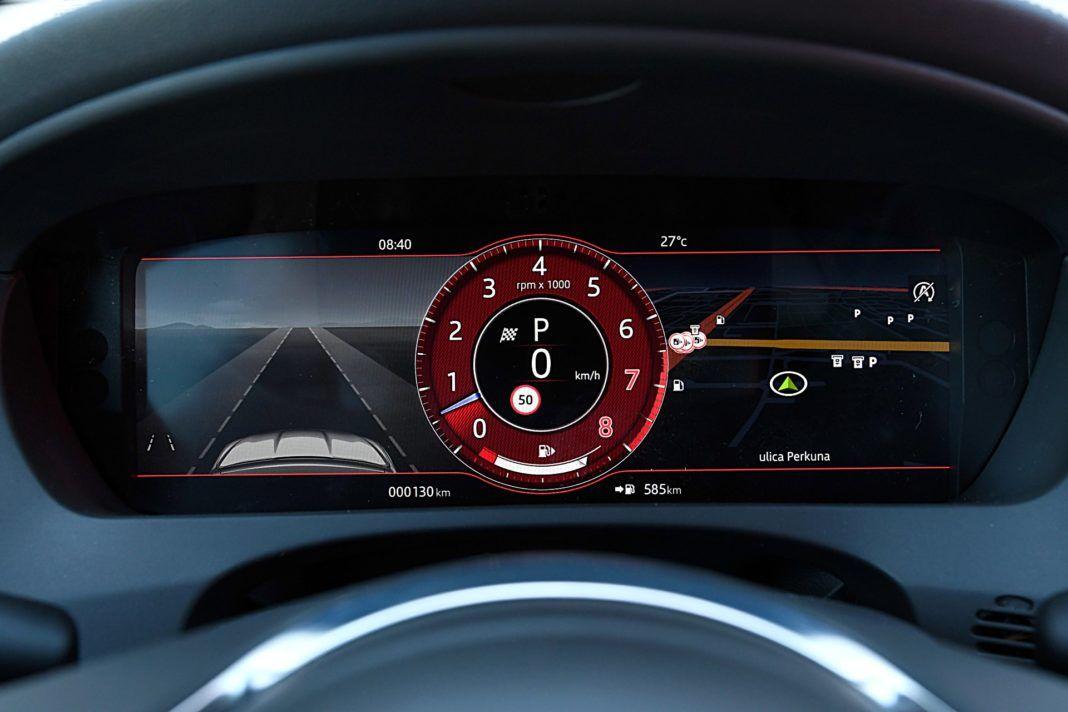 Jaguar F-Pace SVR – wskaźniki