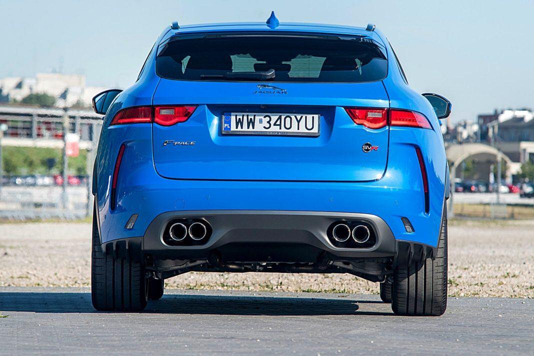 Jaguar F-Pace SVR – tył