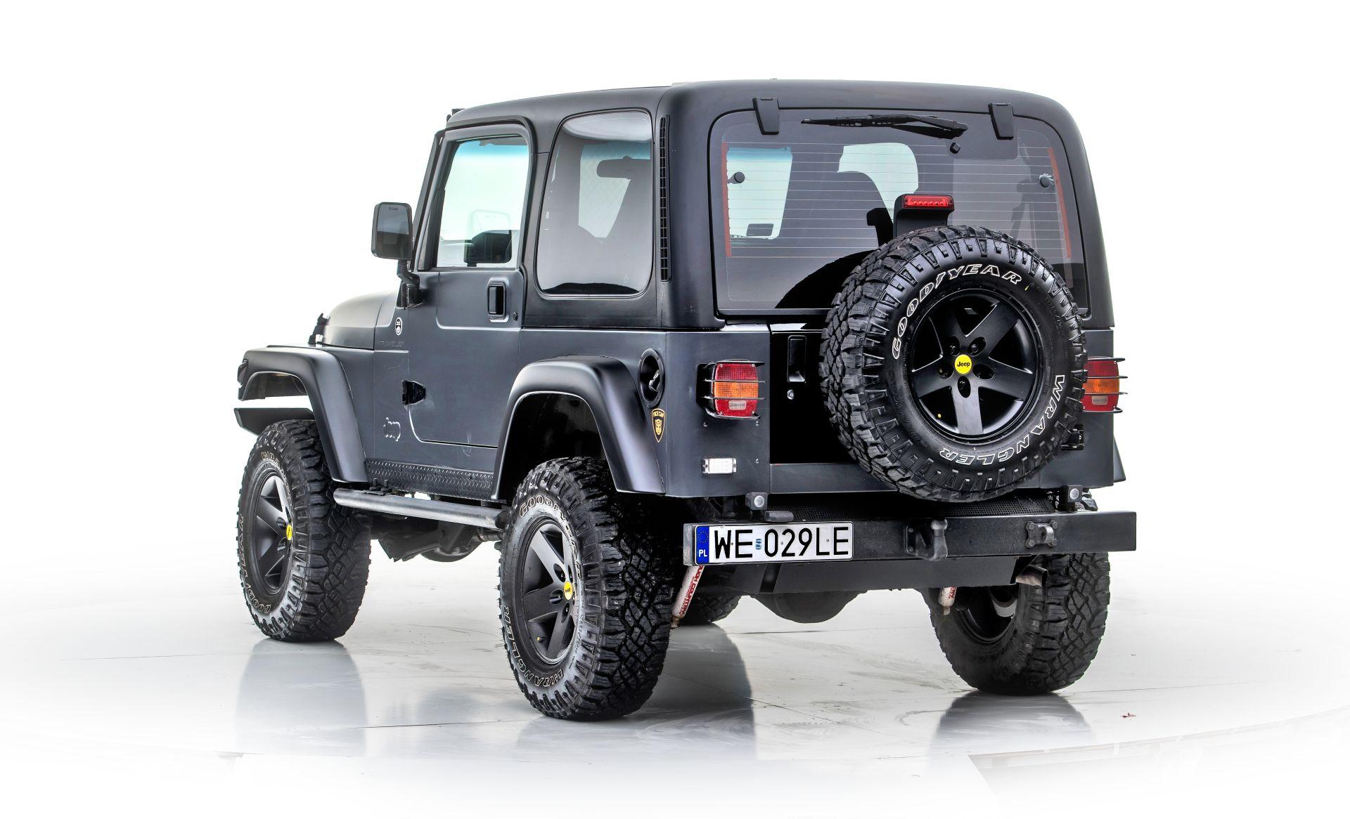 jeep wrangler tj tył