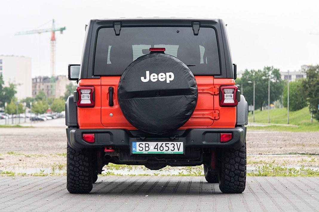 Jeep Wrangler Unlimited– tył