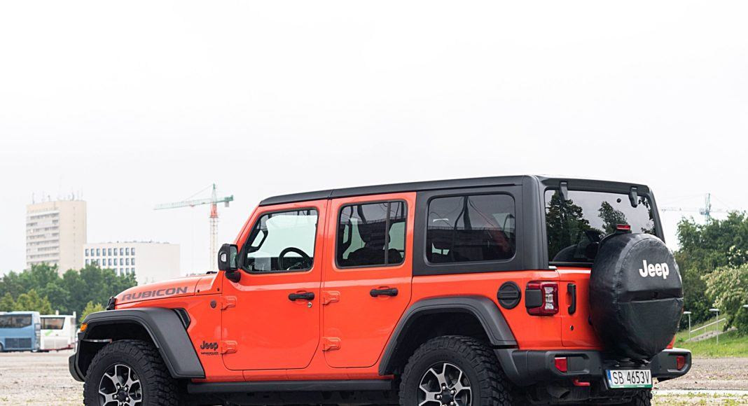 Jeep Wrangler Unlimited – tył
