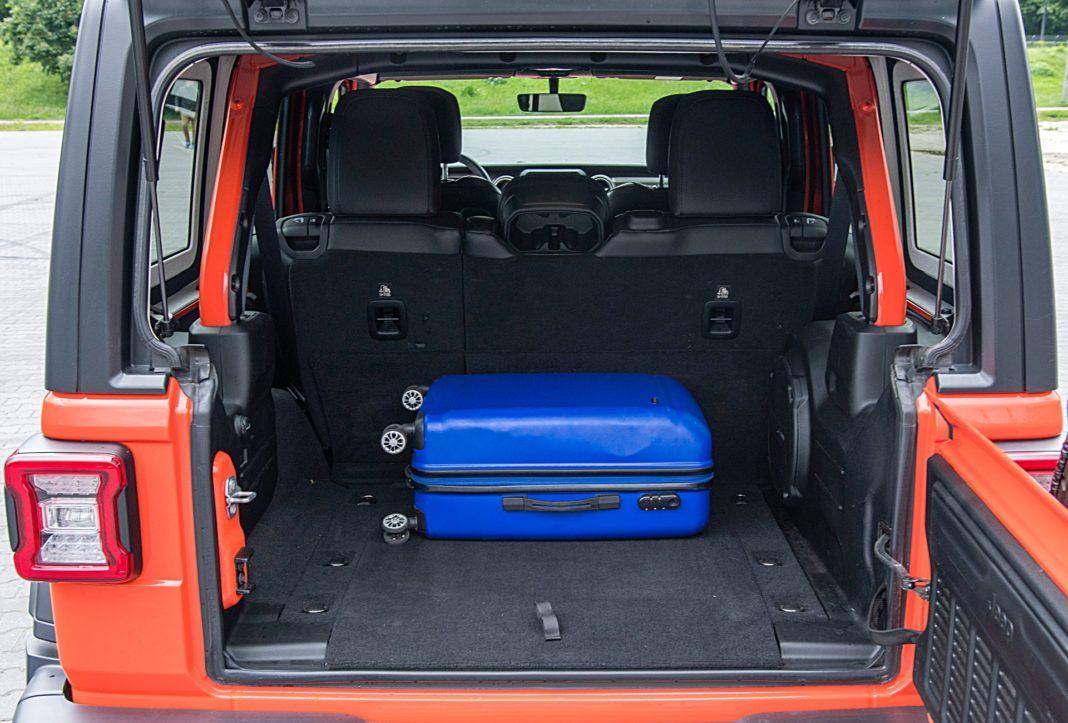 jeep wrangler unlimited bagażnik