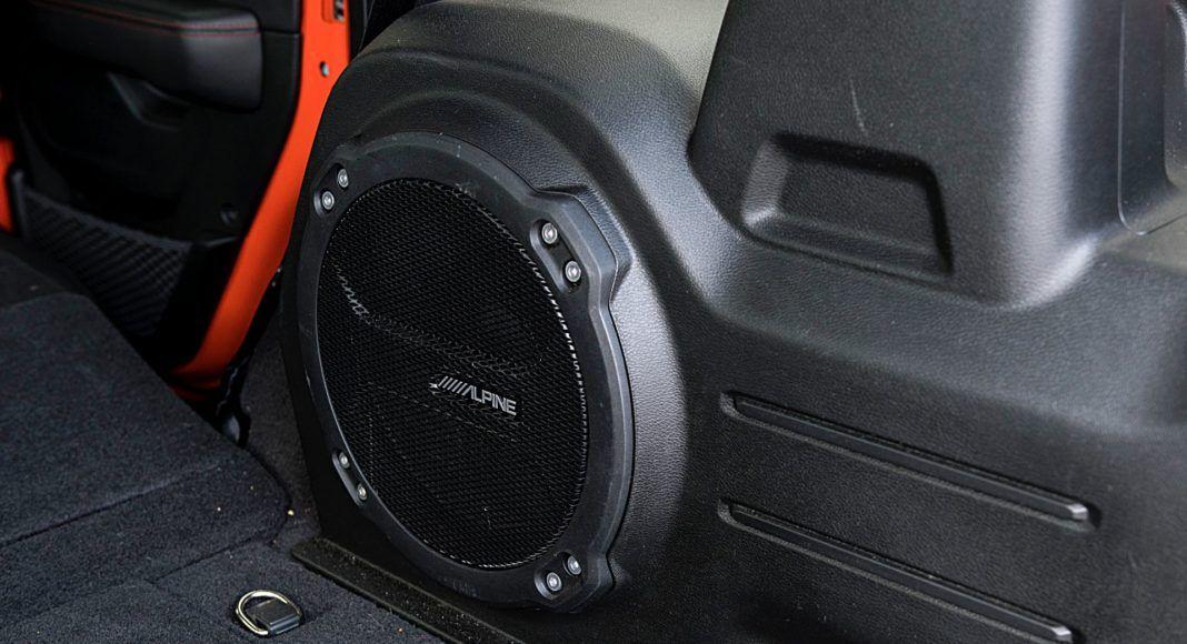 jeep wrangler unlimited głośnik