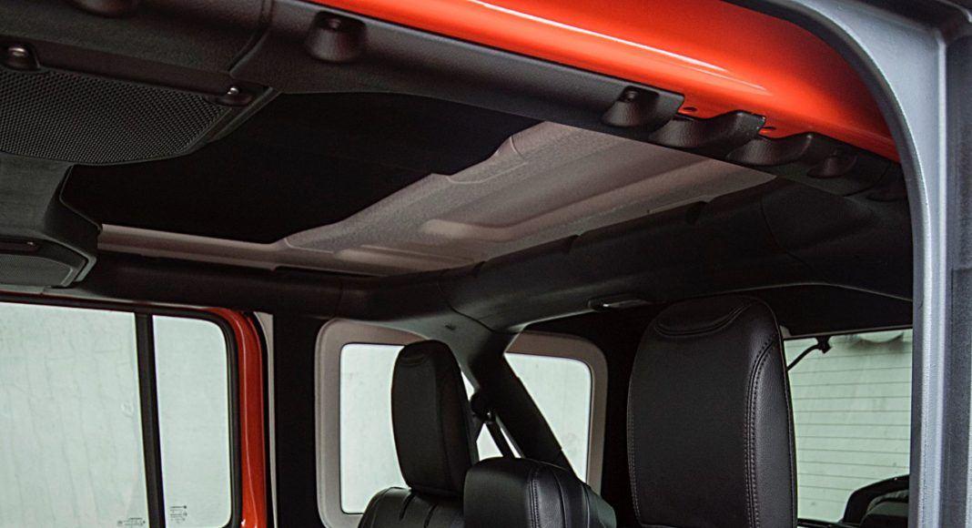 Jeep Wrangler Unlimited – fotele z tyłu