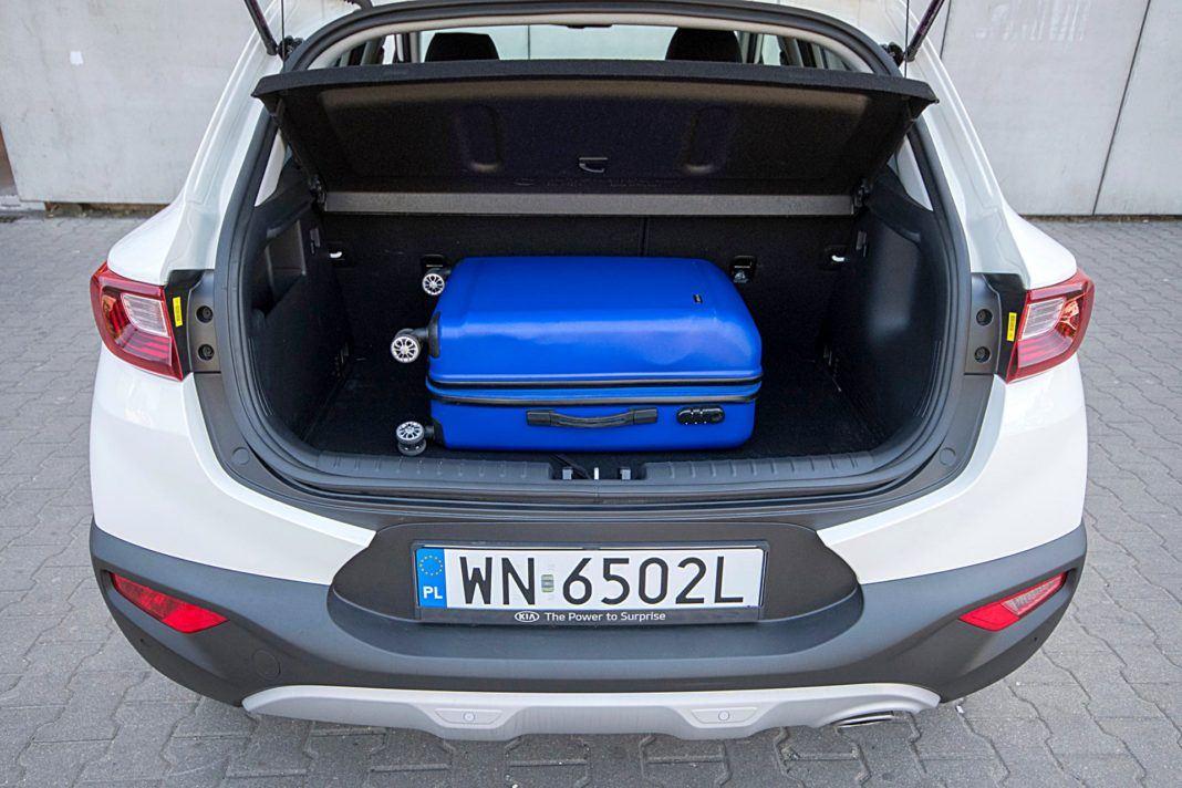 Kia Stonic – bagażnik