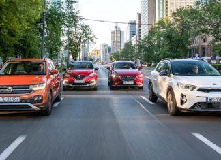VW T-Cross kontra Kia Stonic, Mazda CX-3 i Renault Captur – porównanie miejskich crossoverów