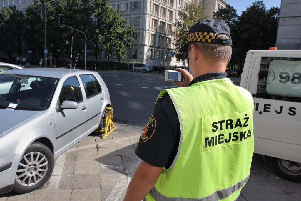 mandat od strazy miejskiej - zdjecia