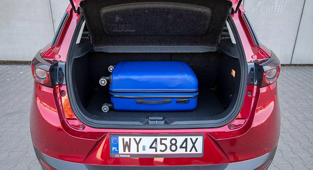 Mazda CX-3 – bagażnik