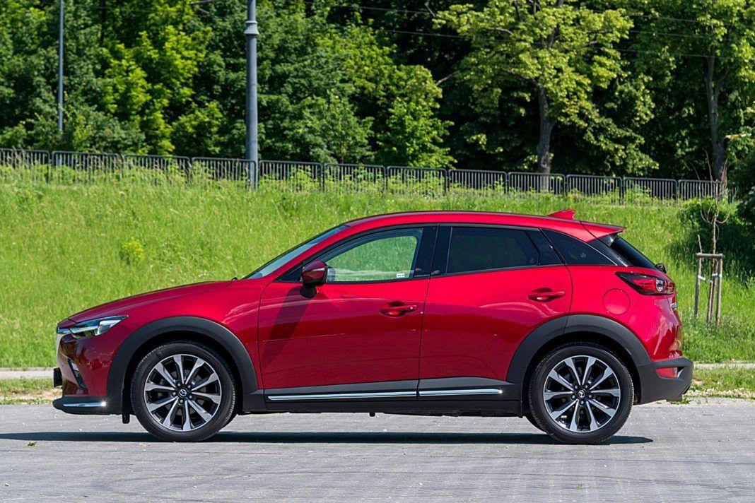 Mazda CX-3 – bok