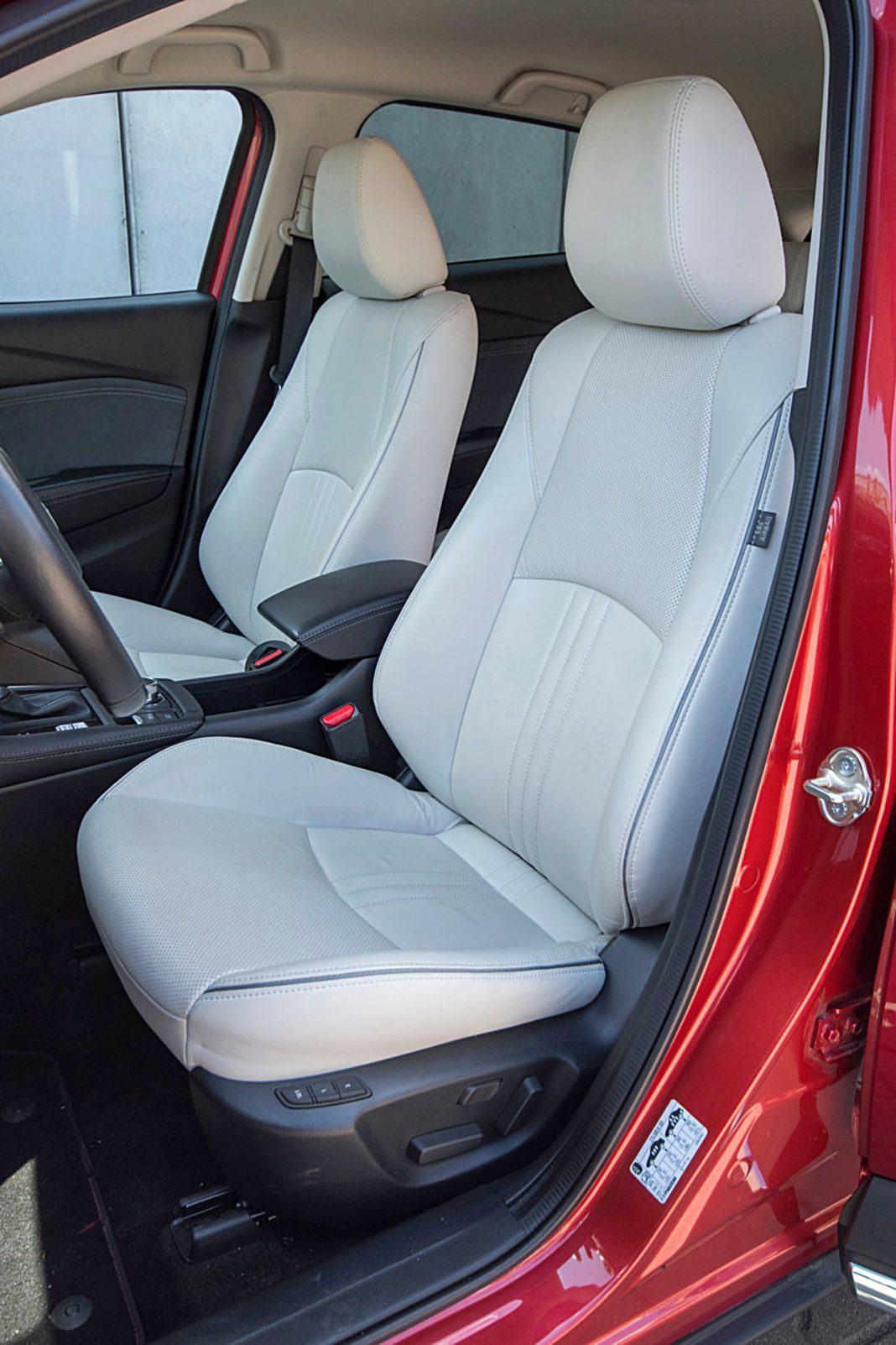 Mazda CX-3 – fotele