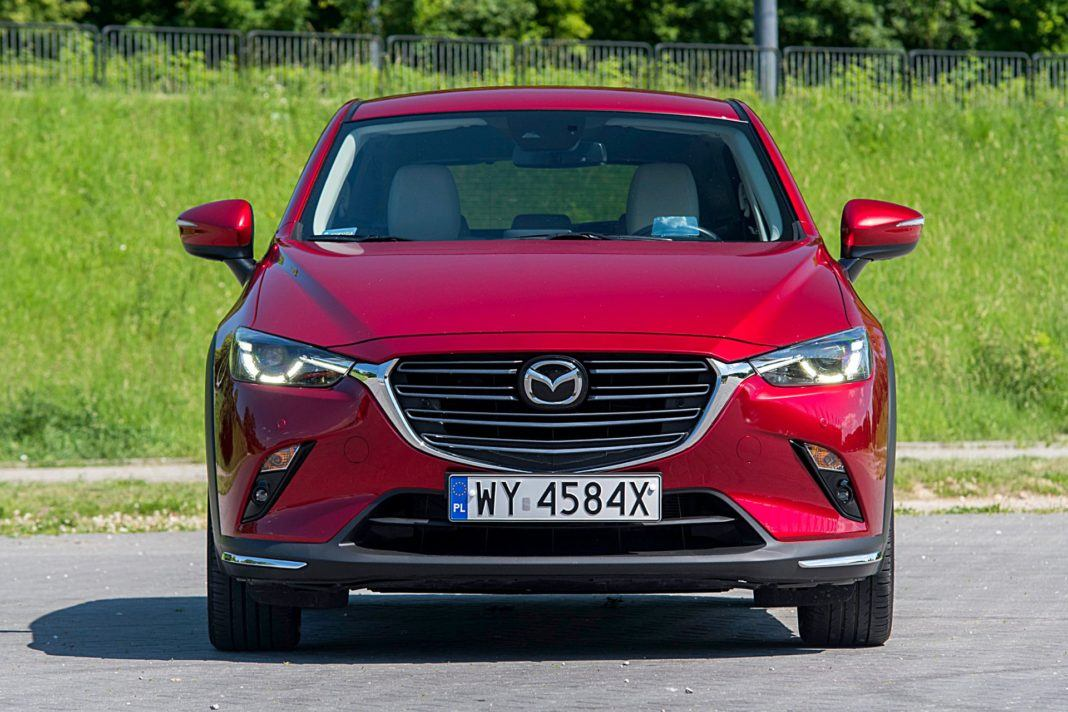 Mazda CX-3 – przód