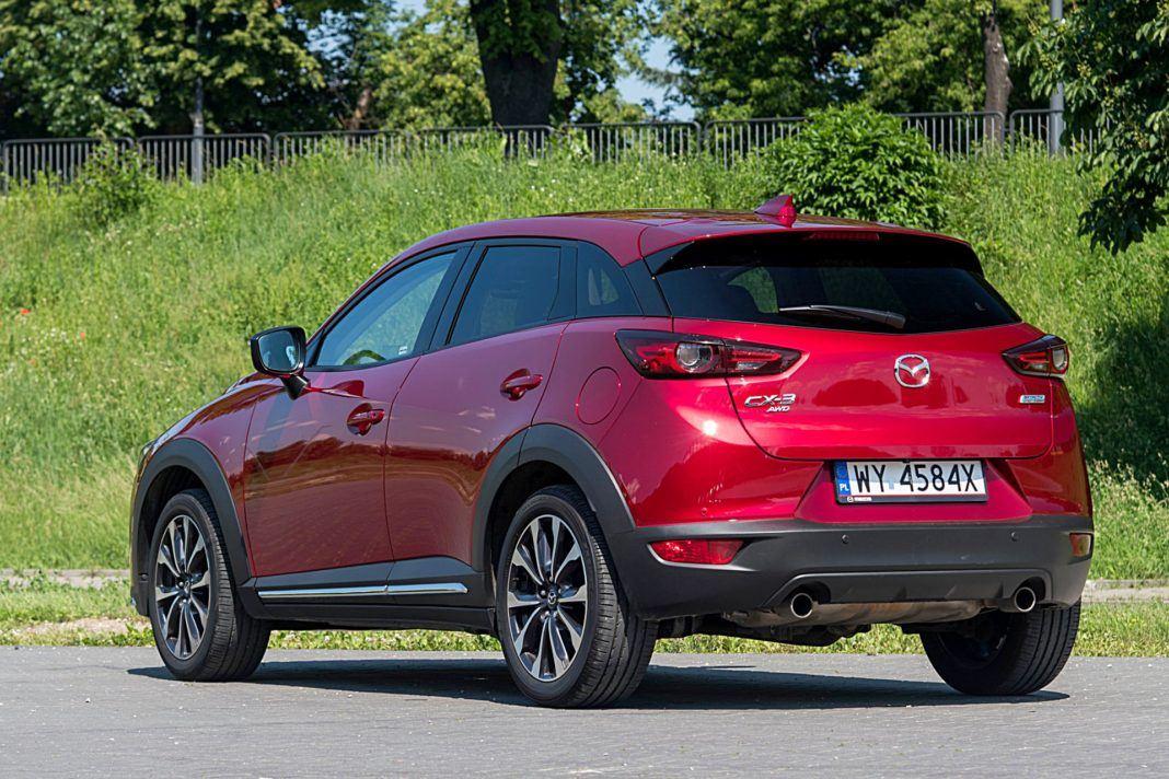 Mazda CX-3 – tył