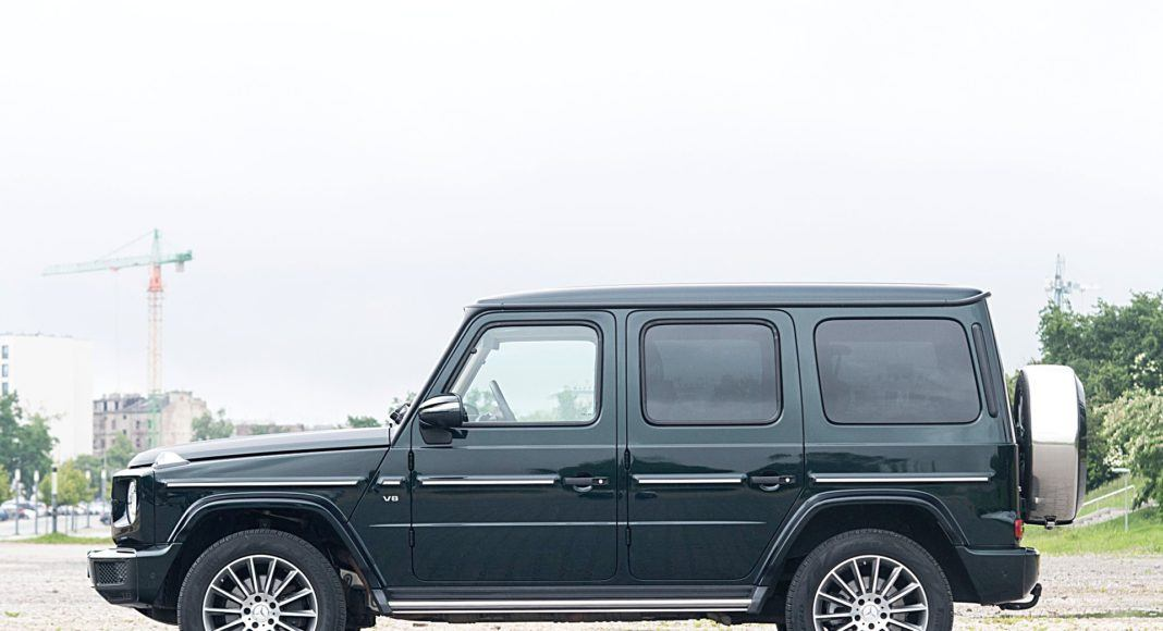 Mercedes G 500 – bok