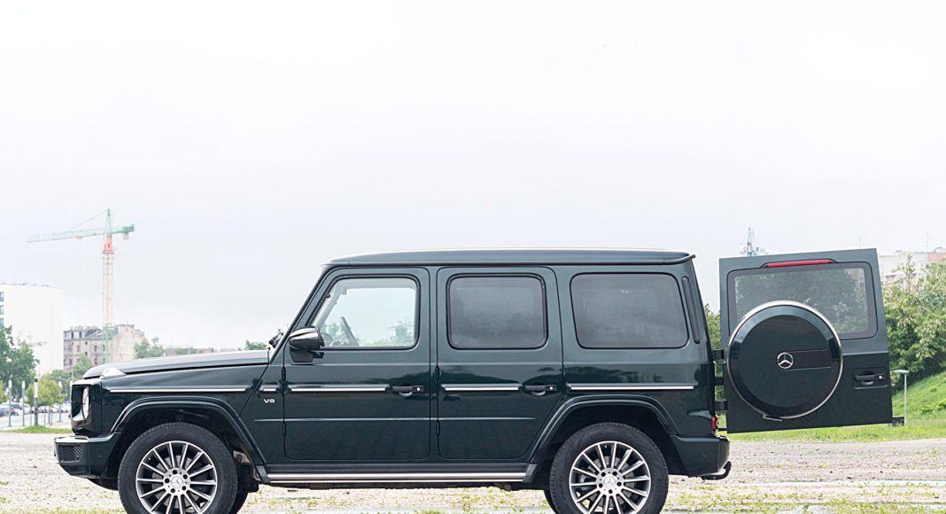 Mercedes G 500 – bok bagażnik