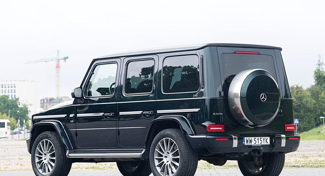 Mercedes G 500 – tył