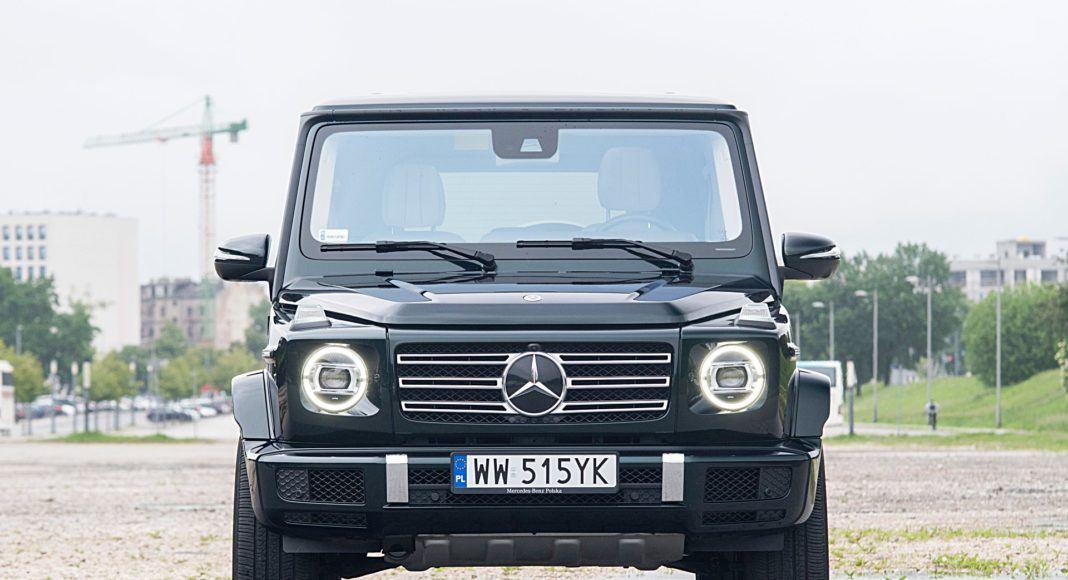 Mercedes G 500 – przód