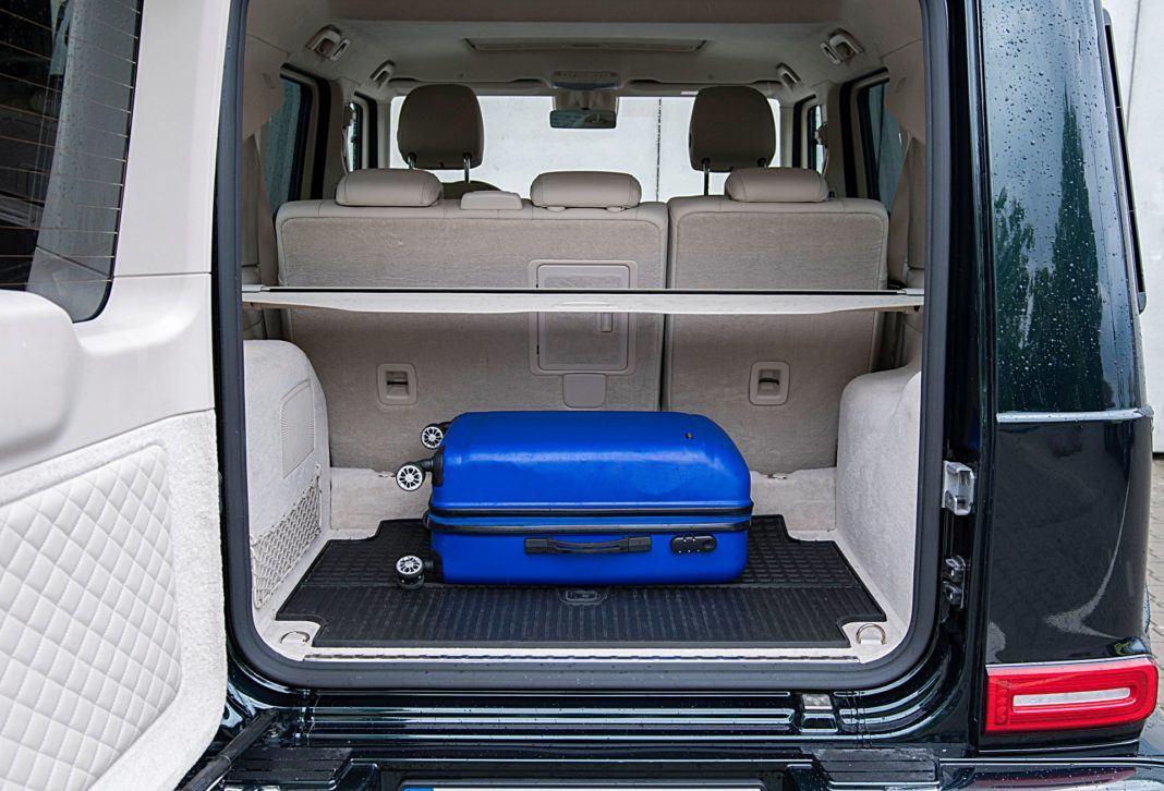 Mercedes G 500 – bagażnik