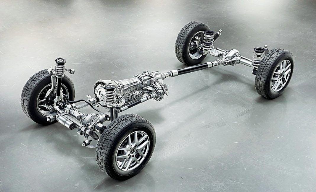 Mercedes klasy G podwozie
