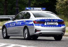 Radiowóz BMW