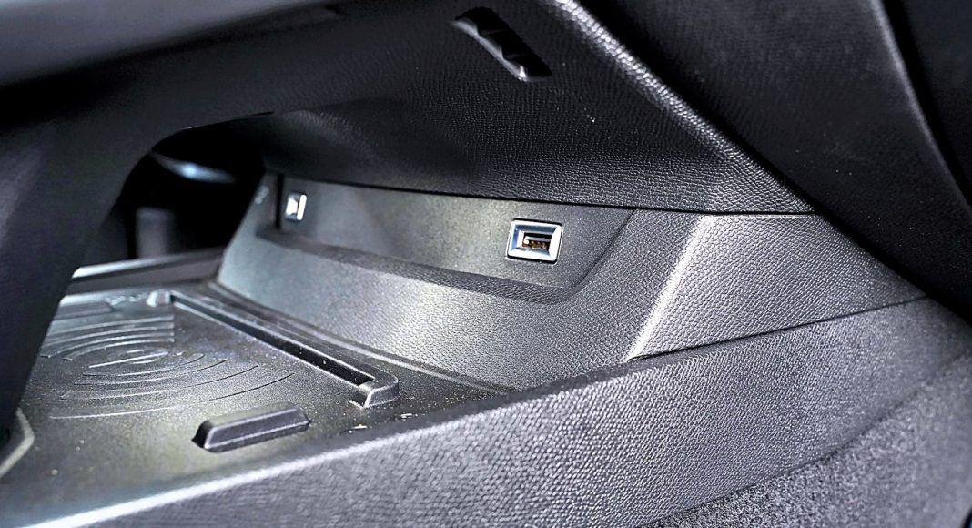 Peugeot 508 SW – ładowarka