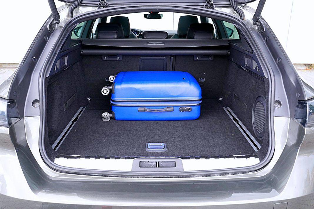 Peugeot 508 SW – bagażnik
