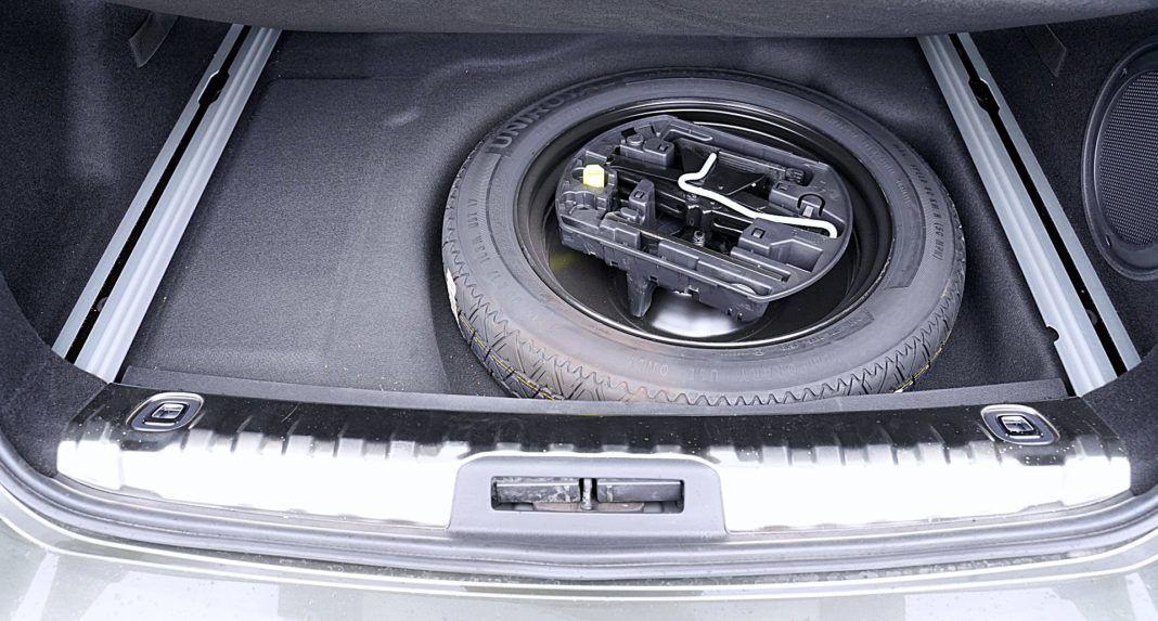 Peugeot 508 SW - koło dojazdowe