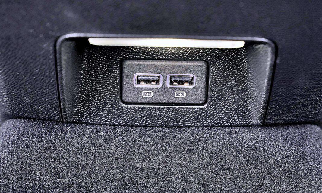 Peugeot 508 SW – wejścia USB