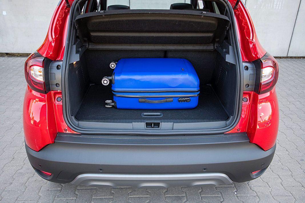 Renault Captur – bagażnik