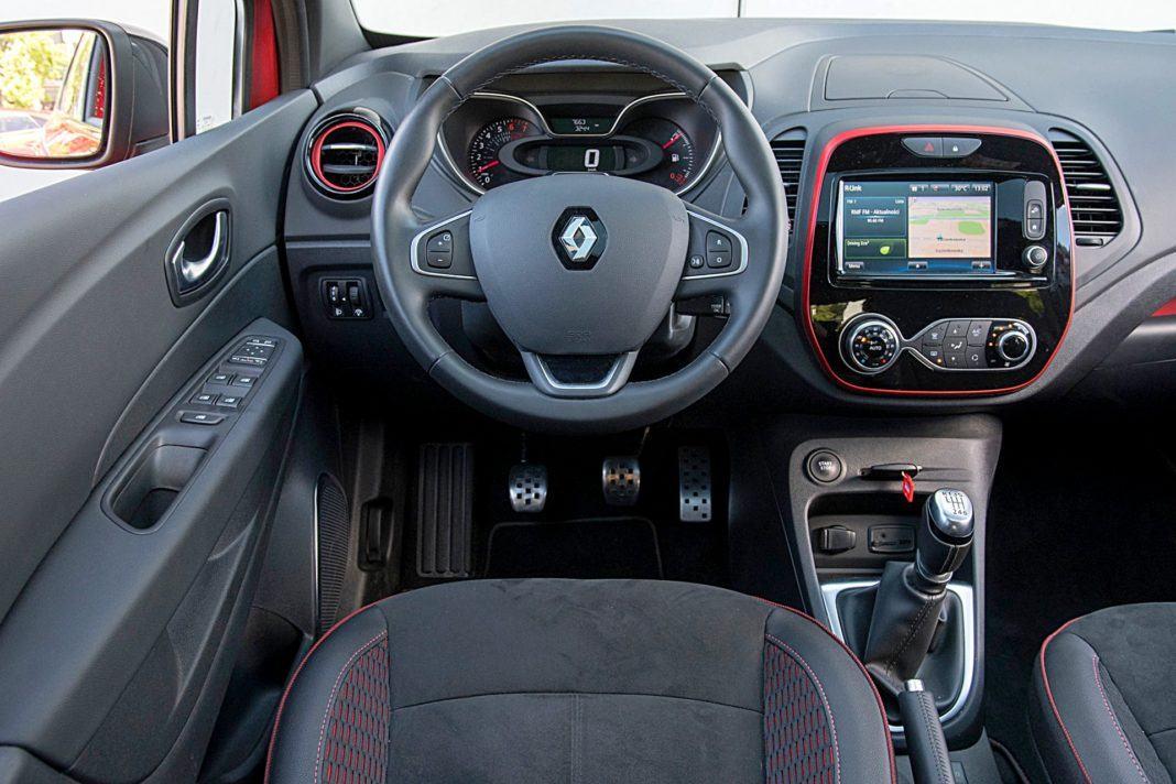 Renault Captur – deska rozdzielcza