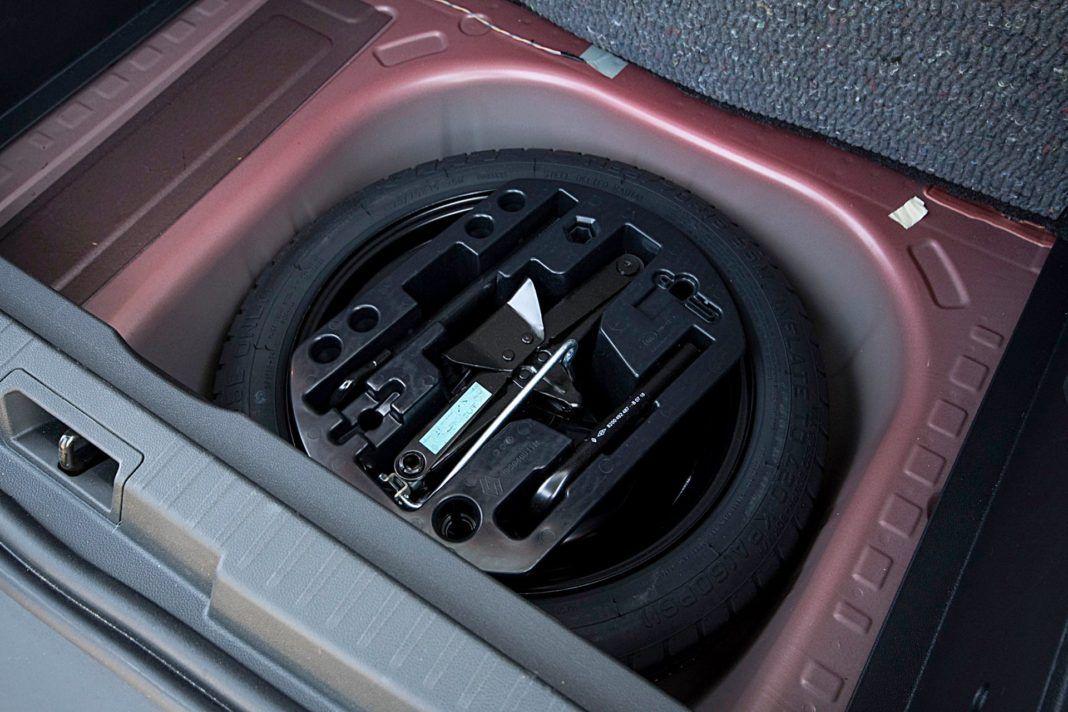 Renault Captur – koło dojazdowe
