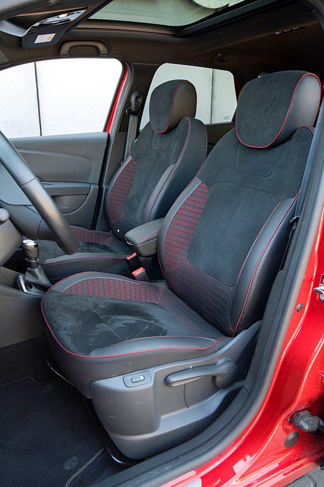 Renault Captur – fotele