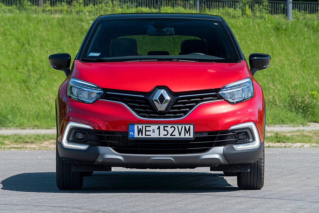 Renault Captur – przód