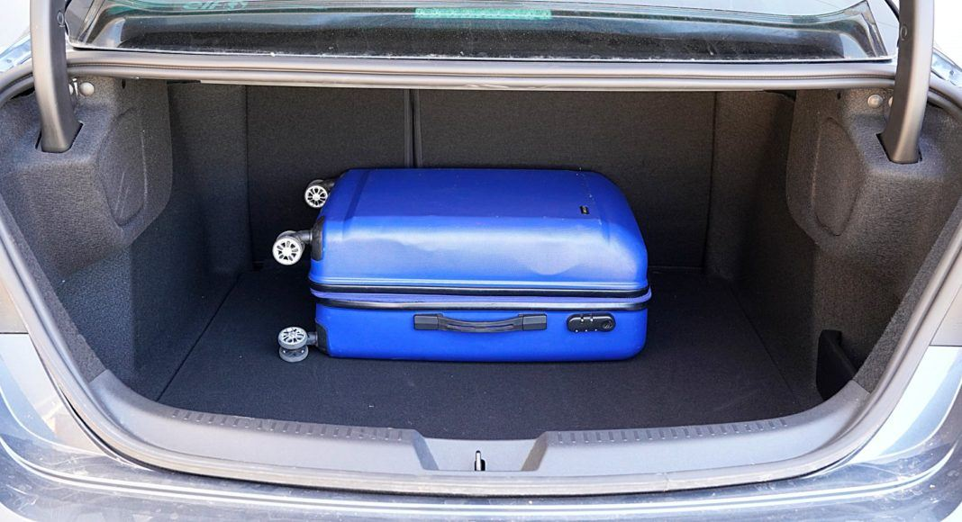 Renault Megane GrandCoupe – bagażnik