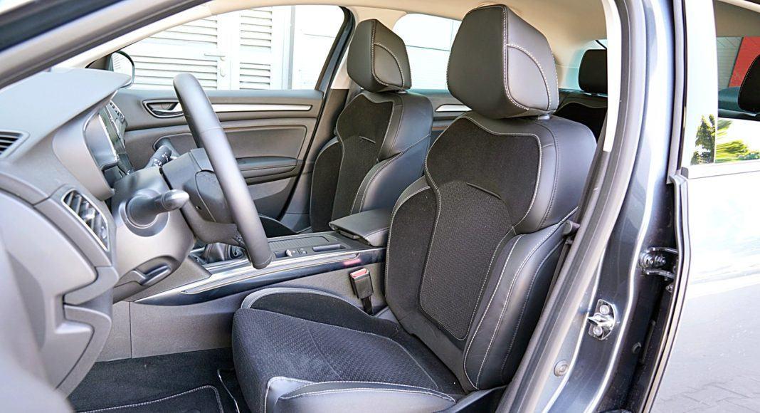 Renault Megane GrandCoupe – fotele