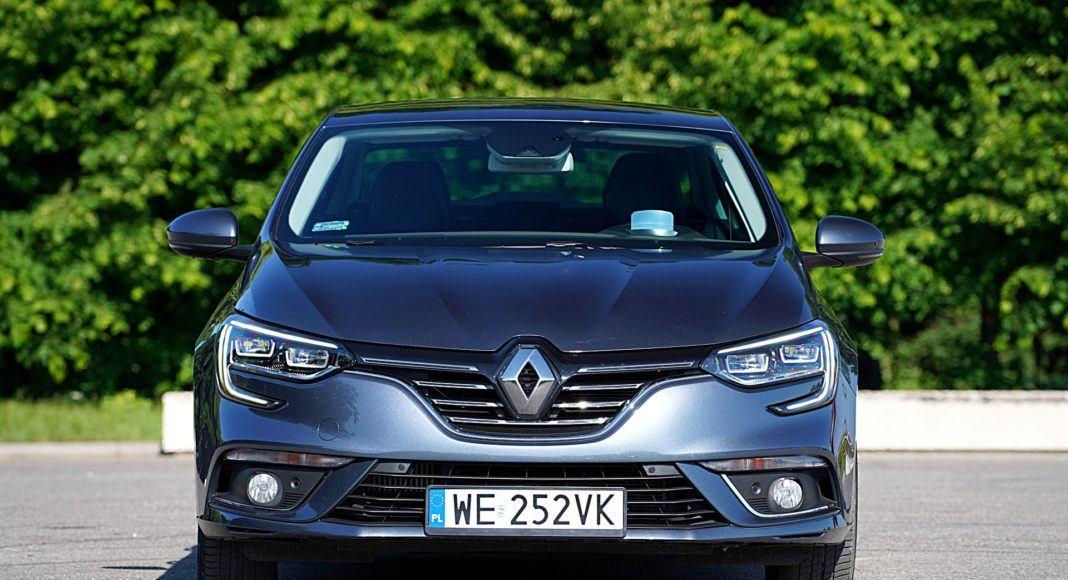 Renault Megane GrandCoupe – przód