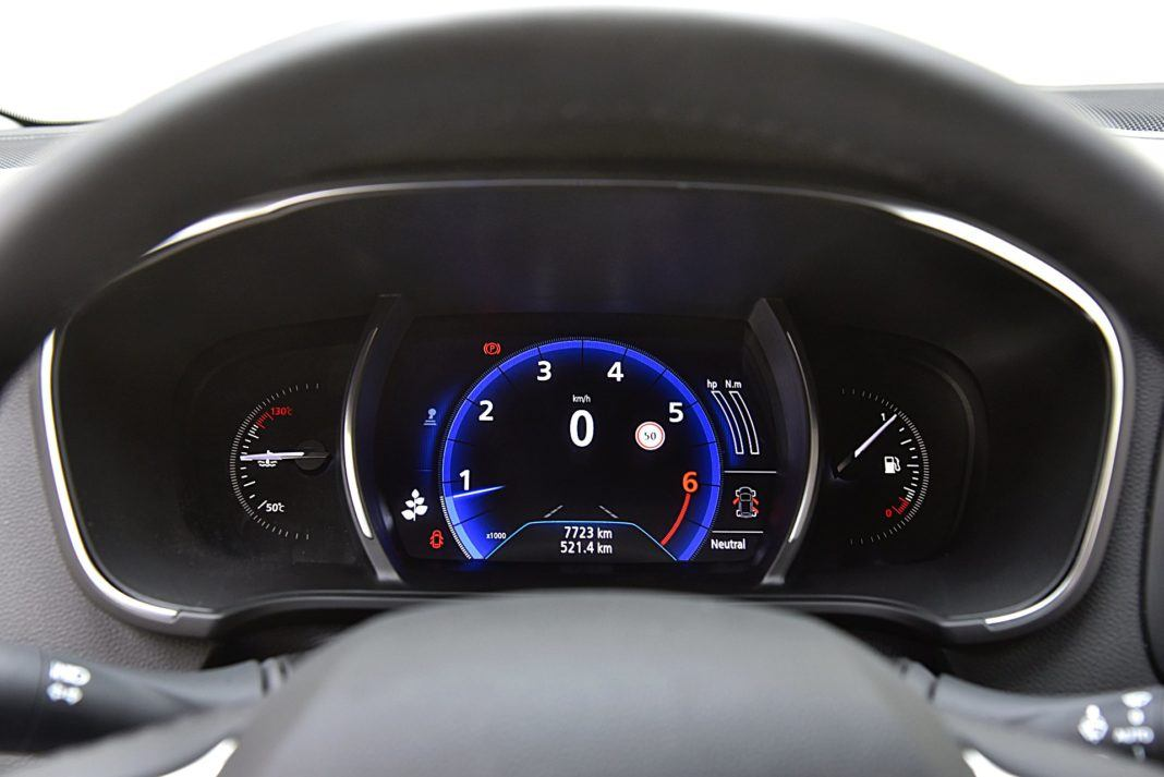 Renault Megane GrandCoupe – wskaźniki