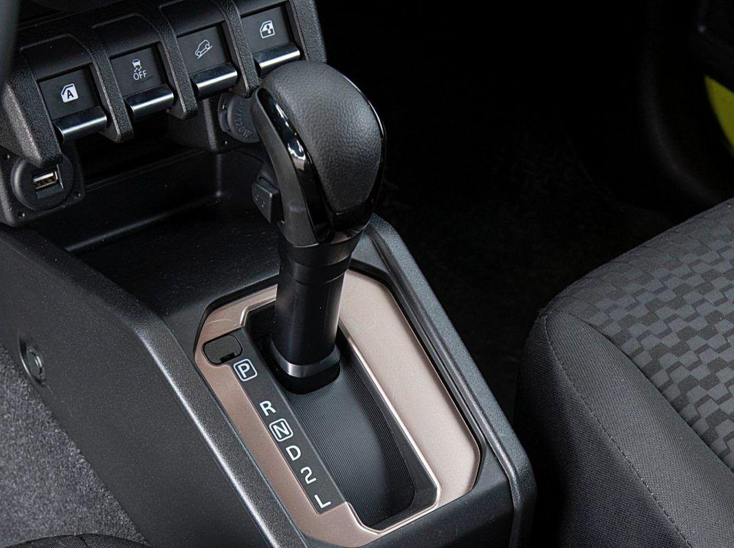 Suzuki Jimny – skrzynia biegów
