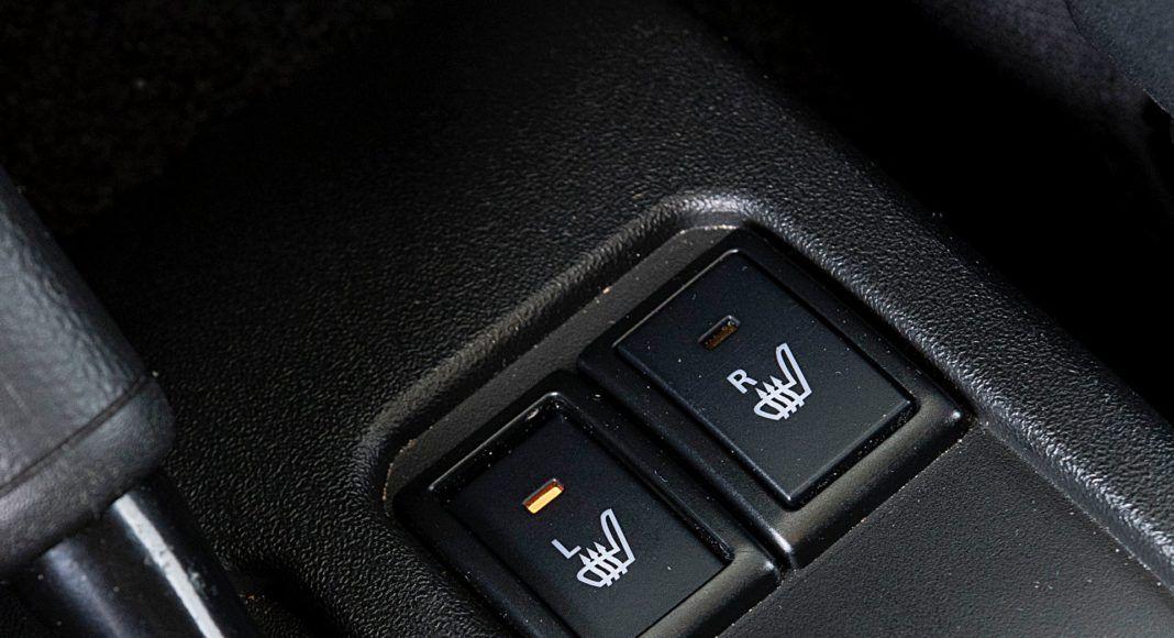 Suzuki Jimny – ogrzewanie foteli
