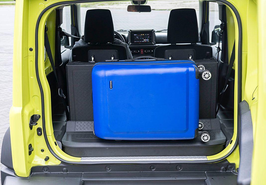 Suzuki Jimny – bagażnik